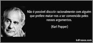 Popper Discutir Racionalmente